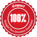 IIMPACT 100% Straight Thru Donation Guarantee